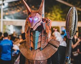 3D printable model Stargate Anubis Cosplay Helmet