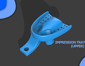 Dental Impression Tray For Dogs upper arch 3D print model