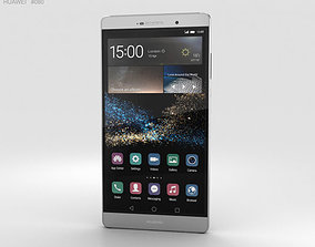 Huawei P8max Titanium Gray 3D model