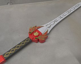 3D print model Power rangers Legacy Red Ranger Sword