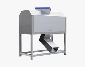 Olive Pitter Machine 3D asset