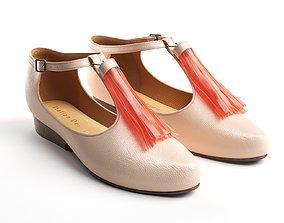 3D Tassel Spritz Shoes