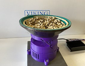 MKIII 3D Printed Vibrating Bowl Feeder - Full