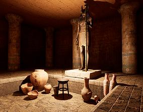 3D model Modular Egypt Tomb