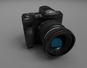 Camera 3D model game-ready