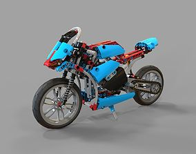 Lego Motorcycles 3D model
