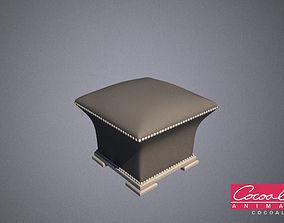 3D model Bedroom Ottoman 01
