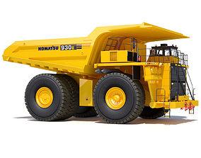 3D model Komatsu 930E industrial