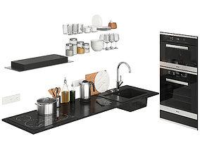 3D model olive Kitchen Decor