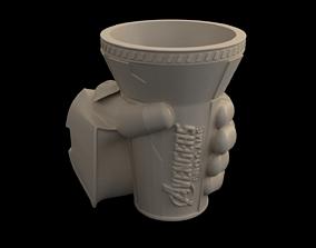 3D print model Infinty Gauntlet Popcorn Bucket
