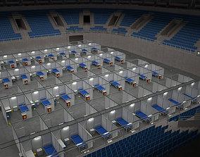 Covid Arena Pandemic - interior - low 3D model