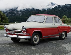 GAZ-M21 Volga 1956 3D model