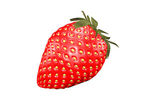 3D asset Strawberry