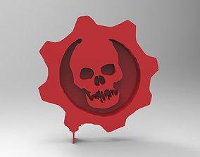 3D printable model gears of war symbol