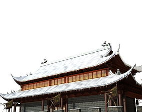 China Temple 016 3D model