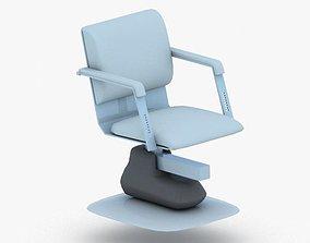 3D asset 0887 - Hairdresser Chair