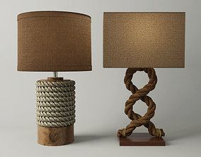 3D Rope Table Lamps