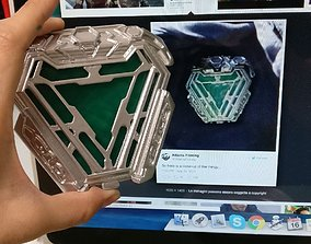 New Arc reactor Iron man Infinity 3D printable model