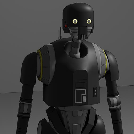 K-2SO Droid - Star Wars - Fan Art
