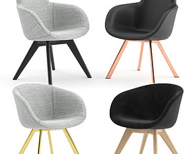 3D Scoop Chairs by Tom Dixon