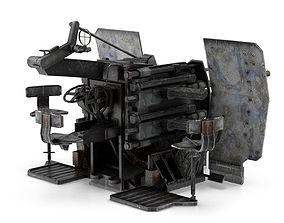 German WW2 Flak 38 3D model