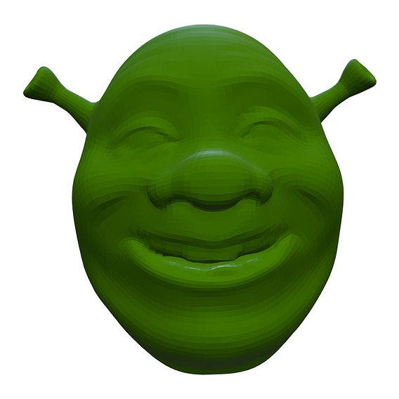 Shrek head