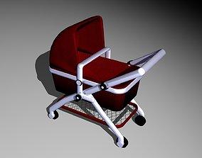 3D model Cradle Car
