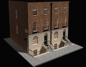 Old English Block House 3D