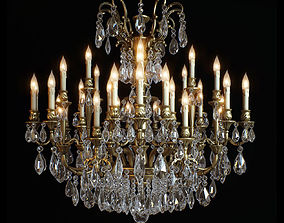 3D model chandelier moscatelli