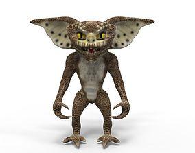 3D model animated Gremlin