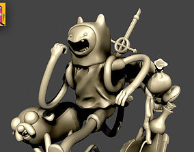3D print model Finn and Jake - Adventure time Collectible