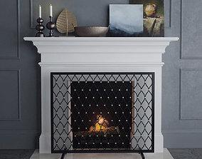 3D model Fireplace 2