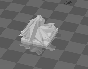 Camera Hot Shoe - Wolf School 3D print model