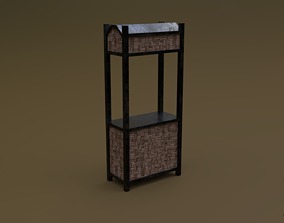 3D model Trade stand 12 R