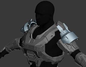 Reach JFO Shoulder Wearable 3D Print Model