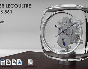 Jaeger Lecoultre Atmos 561 Table Clock 3D model