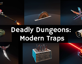 Deadly Dungeons - Modern Traps 3D model