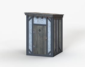 3D Medieval Toilet
