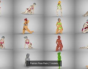 3D Fashion Pose Pack
