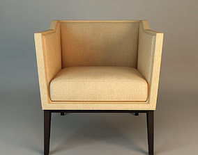 Armchair Baker 6362 3D model
