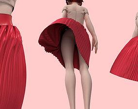 skirt 3D model Skirt