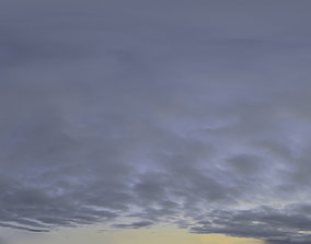 3D model hdri Skydome HDRI - Dusk Clouds