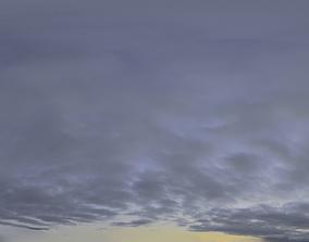 3D model Skydome HDRI - Dusk Clouds