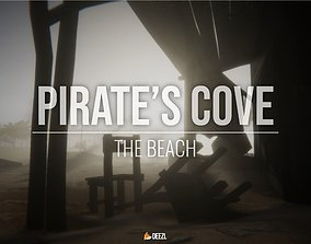 Pirate s Cove - The Beach - Unity HDRP 3D asset