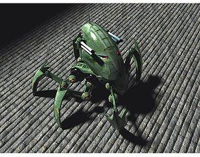 Robot Spider for Poser 3D model