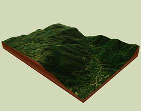 Map 3D model