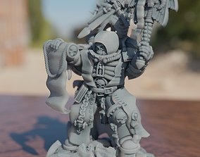 3D printable model The Chaplain - Inspiration and Support
