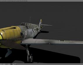 Messerschmitt BF-109 3D model