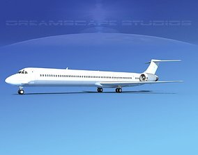 McDonnell Douglas MD-90 Unmarked 1 3D