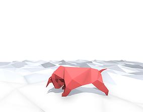 3D model Origami Ox
